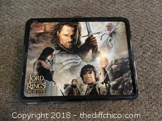 Lord Of The Rings Lunch Box W/ Thermos