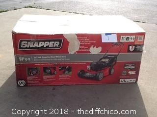Brand New Snapper SP90  lawnmower