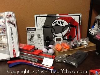Majik 5 In 1 sports center Open box
