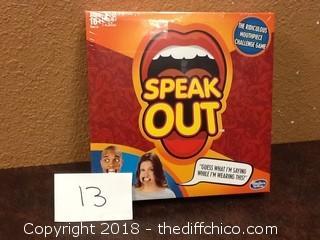 new speak out game