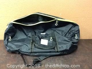 new colman duffel bag with back pack straps
