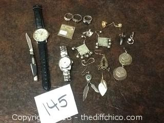 random jewelry and sterling silver lot