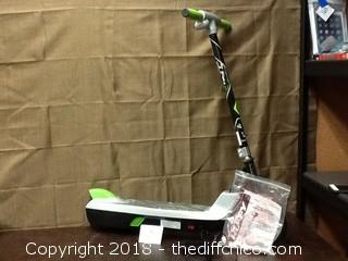used open box green machine electric scooter
