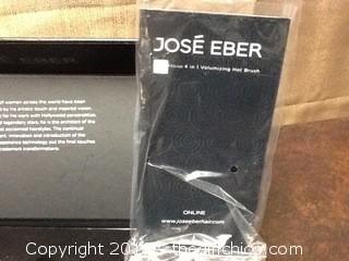 NEW Jose Eber 4 in 1 volumizing hot brush