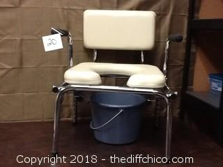new medical potty chair