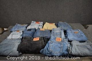 13 Pair of Jeans