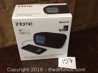 new iHome blutooth with USB clock