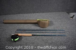 Redington Crosswater Fly Rod, Reel & Case