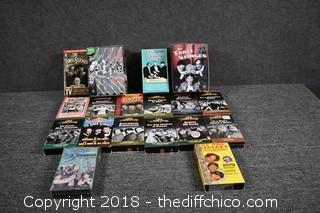 3 Stooges VHS Tapes