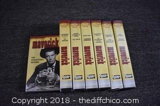 Maverick Collectible Edition VHS Tapes