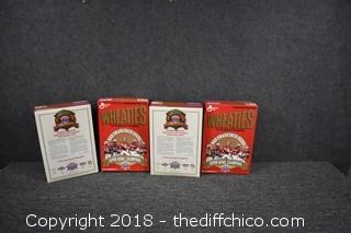 4 Boxes of Collectible 49er Wheaties Boxes