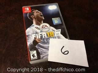 NEW FIFA 18 nintendo switch game