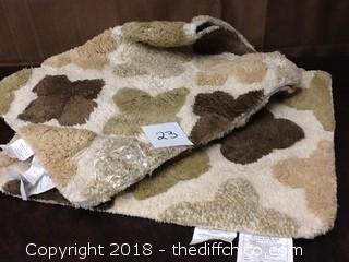 new bathroom rug set
