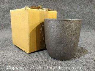 "Smelting Pot - New - 4"" Tall"