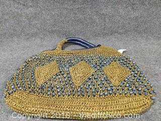 New Beaded Purse - 20""