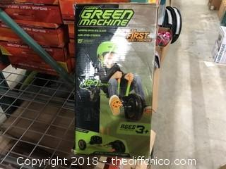 Huffy Green Machine Childrens Tricycle (J1)