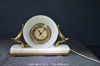 Working Vintage Art Deco Clock