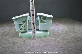 Roseville Silhouette Planter Pottery 757-9