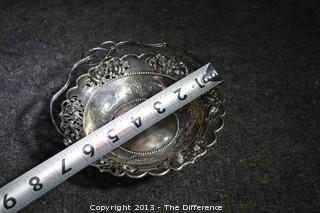 ZeeWo Silver Basket