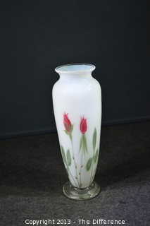 Signed Orient & Flume Tall Vase