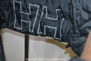 Green Helly Hansen Reversible Jacket-Size Large