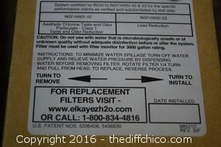 Elkay Filter for Water Sentry Plus